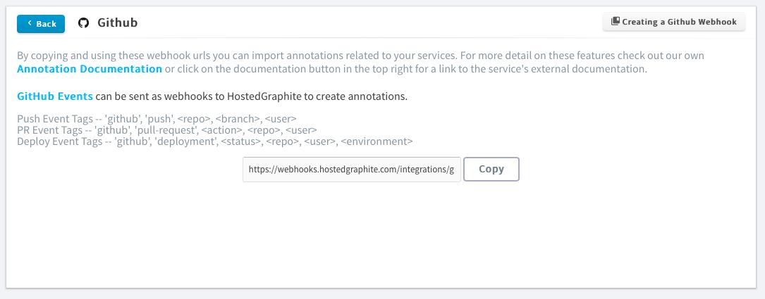 GitHub — Hosted Graphite documentation